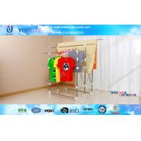 Wholesale Indoor / Outdoor Folding Clothes Drying Rack Steel Standing Three Pole from china suppliers