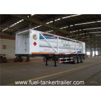 Wholesale ISO11120 20 feet 8 Tubes CNG Tank Trailer with 4130X Cylinder Steel Material from china suppliers