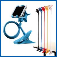 Wholesale Blue Universal Mobile Phone Accessories Clip Holder Lazy Bracket Flexible Long Arms from china suppliers