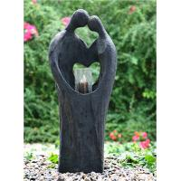 Wholesale Cement Material Indoor Water Features Fountains In Kiss Lover Shape  from china suppliers