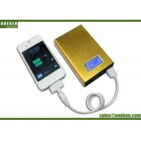 Wholesale Gold LCD Display Power Bank Credit Card Power Banks 12000mAh With LED from china suppliers
