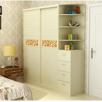 Wholesale Modern Furniture Sliding Door Wardrobes , Bedroom Wardrobe Closet Professional from china suppliers
