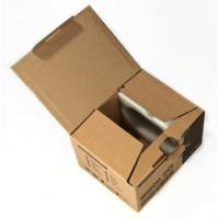 Wholesale Custom Brown Cardboard Paper Sheets , Shipping Boxes Cardboard from china suppliers