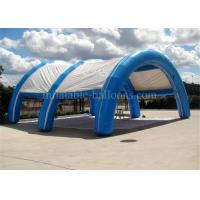 Wholesale Commercial Arch Inflatable Air Tent Rentals For Wedding 8m Blue Oxford Cloth from china suppliers