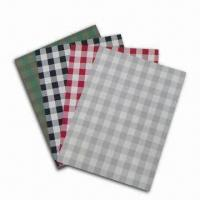 China Placemats, Measures 30 x 45cm, Made of Textile with 30% Polyester and 70% PVC on sale