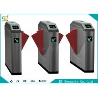 Wholesale Double Wing IR Sensor Flap Barrier Gate Card Reader Or Push Button Turnstile from china suppliers