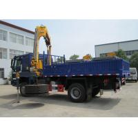 China Fast Mobile City Construction Articulating Boom Crane , 5 Ton SQ5ZK3Q WITH ISO CE on sale