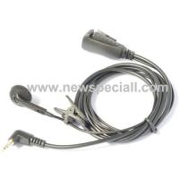 Wholesale Single walkie talkie headset with speaker from china suppliers