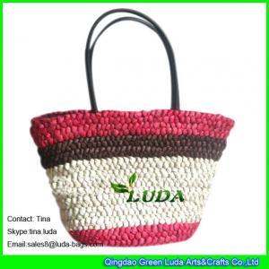 Buy cheap LUDA wholesale straw handbags  large cornhusk women straw bags from wholesalers