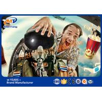 Wholesale Various Effects 5D Movie Theater Amusement Park Simulator With 6 DOF from china suppliers