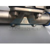 Wholesale Stainless Steel Manual Type Clamped Diaphragm Valve (ACE-GMF-A7) from china suppliers