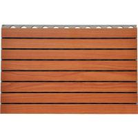 Wholesale Fire - Resistance Wooden Grooved Acoustic Panel For Offices Walls from china suppliers