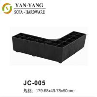 Wholesale decorative plastic sofa feet fancy plastic corner furniture feet JC-005 from china suppliers