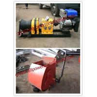 Wholesale cable puller,Cable Drum Winch,Cable pulling winch, Cable bollard winch from china suppliers