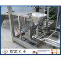 Wholesale Skid Mounted 1000L / H Dairy Products Machinery , Milk Processing Plant  With Cream Separator from china suppliers