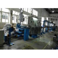 Wholesale Durable plastic extrusion equipment cable extrusion machine With 1000mm Pay Off Bobbin from china suppliers
