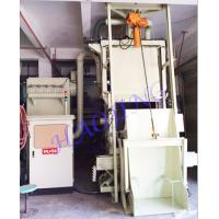 Wholesale Wheel Blaster Tumble Auto Blasting Machine , Blast Track Shot Blaster Surface Derusting from china suppliers