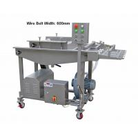 Quality Variable Speed  Chicken Nuggets Processing Line , Tempura Batter Coating for sale