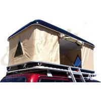 Wholesale Double Layer Automatic Hard Top Car Tent , 3 Person Roof Top Tent Custom Printed from china suppliers