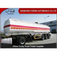 Wholesale Professional 45000 Liters Fuel Tanker Semi Trailer With 5 Compartments  from china suppliers