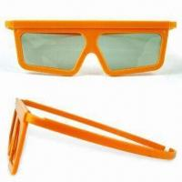 Wholesale Polarized 3-D Glasses, Various Frame Colors/Styles are Available, Suitable for Promotional Purposes from china suppliers