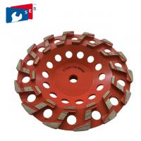 China 4'' Diamond Marble Grinding Wheel with Cup Shape for Concrete on sale