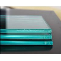 Wholesale Patterned Flat Clear Float Glass 12mm For Shop Fronts / Folding Screens from china suppliers