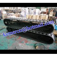Quality factory directly offered rubber track undercarriage rubber track system rubber crawelr undercarriage for sale