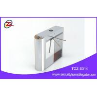 Wholesale Stainless steel tripod turnstile gate , pedestrian tripod barrier with fingerprint from china suppliers