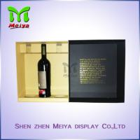 Wholesale Cardbaord Personalized packaging boxes , Red Wine gift boxes Luxury from china suppliers