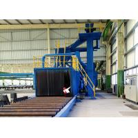 Wholesale Roller Conveyor Blast Cleaning Machine For Metal Castings Surface Sand Removing from china suppliers