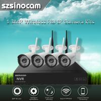 Wholesale 1.3MP NEW 2.4GHZ Full WIFI NVR Kits Black And White 40M With Block from china suppliers