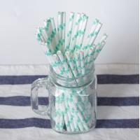Wholesale CE Certified Colored Paper Straws LFGB Whiskey Beverage Disposable Paper Tube from china suppliers
