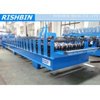 Wholesale 24 Stations Steel Decking Roll Forming Machine PLC Frequency Controller from china suppliers
