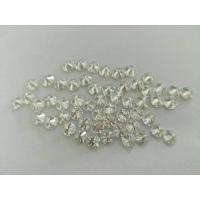 Wholesale Mini Round Loose Moissanite Gemstone Brilliant Cut For Cluster Setting from china suppliers