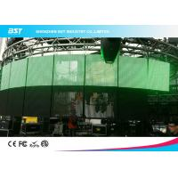 Wholesale HD Flexible Video Led Display P7.81 Transparent Led Panel For Hotel / Bank from china suppliers