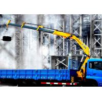 Wholesale Durable XCMG Folding Boom Truck Mounted Crane 10T For City Construction from china suppliers