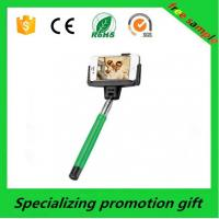 Wholesale Green / Yellow Stainless Steel Smartphone Selfie Stick / Selfie Monopod from china suppliers