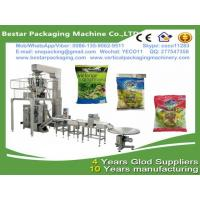 Quality Vegetable packing machine with multi-heads weigher,Vegetable packaging machine with Nitrogen making machine for sale