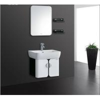 Wholesale 5mm silvered float mirror PVC Bathroom Cabinet 40 inch vanity with sink from china suppliers
