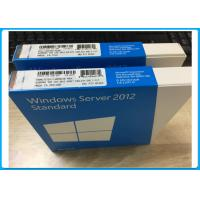 Quality Genuine OEM Key License Windows Server 2012 Retail Box 5 Cals Software for sale