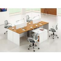 Wholesale Popular 4 Seat Office Wooden Computer Workstation DesignCubicle Desk from china suppliers