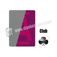 Wholesale 5 Stars Invisible Playing Cards With 2 Jumbo Index For Contact Lenses from china suppliers