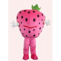 Wholesale fruit fancy dress of strawberry advertising mascot cartoon cosplay costumes from china suppliers