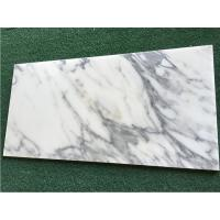 Wholesale White Calacatta Marble Natural Stone Tile For Bathroom 10mm Thickness from china suppliers