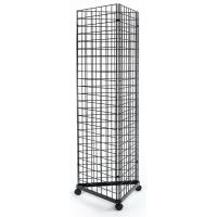 Wholesale Customized Design Wall Display Rack , 3 Sided Metal Display Racks And Stands from china suppliers