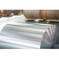 China Coated Aluminium Decorative Foil Width 200-1600 mm Steel / Al / Paper / Fiber Core Material on sale