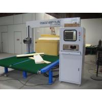 Wholesale Industry Flexible Foam Oscillating Blade Sponge Cutter L2500 × W1200 × H1000 Cushion Cutter Cutting Machine from china suppliers