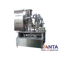 Wholesale Semi-automatic Gable Top Carton Filling Machine Roof-type Carton Beverage With 600BPH from china suppliers