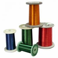 Wholesale 12 SWG to 34 SWG Super Round Enamelled Aluminium Wire coated for motor from china suppliers